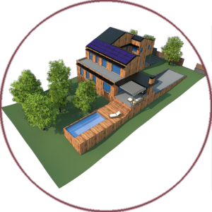 Casa de baix consum energètic a l'Ametlla del Vallès